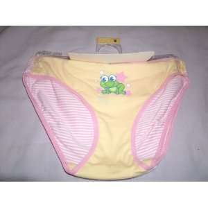 Girls Bikini Underwear Frogs Size Medium