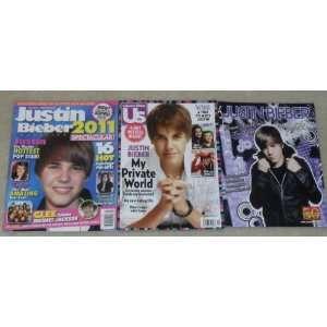 Justin Bieber Magazines   US Weekly, Blast, etc staff writers