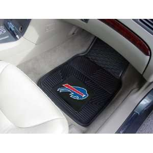 Bills 2 PIECE RUBBER/VINYL CAR/TRUCK/AUTO FLOOR MATS: Home & Kitchen