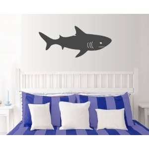 StikEez Grey Large Shark Wall Decal