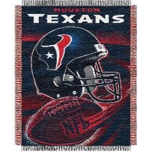 Houston Texans NFL Woven Jacquard Throw