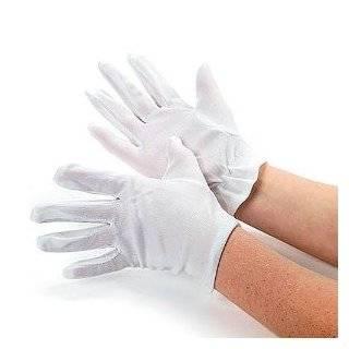 Instant Mario Deluxe   White Stitched Glove Medium, Red