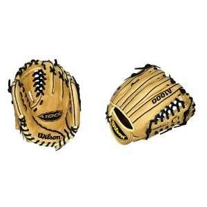 Wilson A1000 Series Baseball Series Baseball Glove (Tan, 11.75 Inch