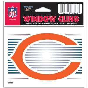 Chicago Bears Static Cling Window Decal Sticker by WinCraft (Set of 2