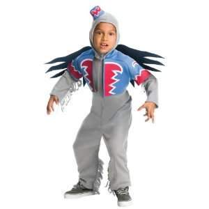 Wizard of Oz Childs Flying Monkey Costume, Large: Toys