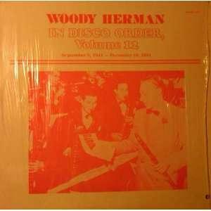 in disco order vol. 12 LP WOODY HERMAN Music