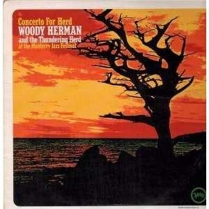 CONCERTO FOR HERD LP (VINYL) UK VERVE 1968 WOODY HERMAN Music