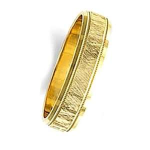 Yellow Gold Wedding Ring by Oromi, Finger Size 14¾: Wedding Rings by