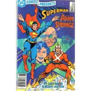 Vol 6, #82 (Comic Book), Superman and Adam Strange DC COMICS Books