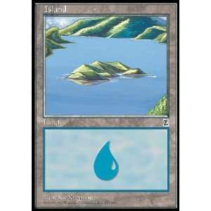 Magic the Gathering Island (171)   Portal Three Kingdoms