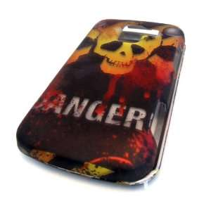 LG Optimus Q L55c Design Danger Poison Skull HARD Case