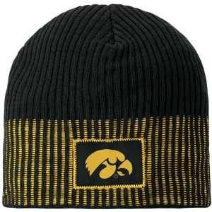 Nike Iowa Hawkeyes Black All Nighter Beanie Cap  Sports