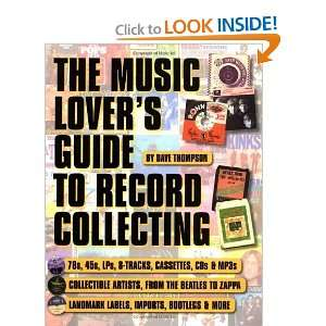 The Music Lovers Guide to Record Collecting (Book