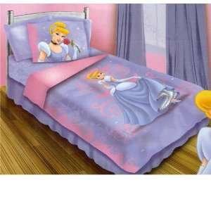 Disney Princess Cinderella Twin Bed in a Bag Set