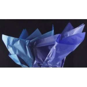 40 Sheets of Tissue Paper, 20 x 24, Sky/Cobalt Blue Everything Else