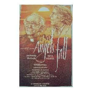 ANGELS FALL (ORIGINAL BROADWAY THEATRE WINDOW CARD)