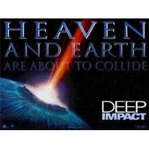Deep Impact (U.K. Quad), Wall Poster, 40x30