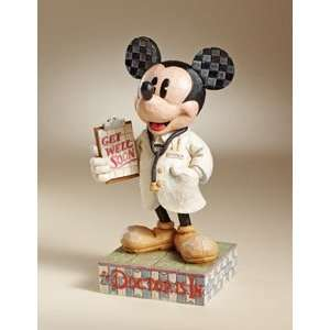 Jim Shore Mickey Mouse Doctor Disney Traditions Figurine The Doctor