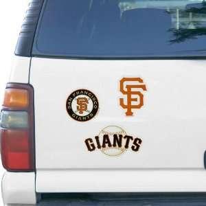 San Francisco Giants 3 Piece Magnet Sheet Sports