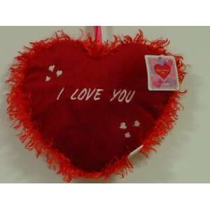HAPPY VALENTINES DAY (I LOVE YOU PILLOW RED)