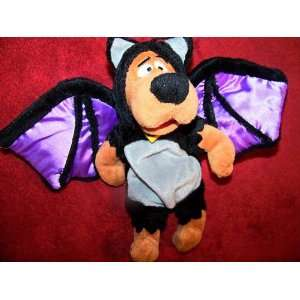 Scooby Doo 9 Plush Vampire Bat Scooby Bean Bag Doll: Toys & Games