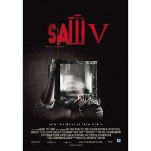 Saw V Movie Poster (27 x 40 Inches   69cm x 102cm) (2008