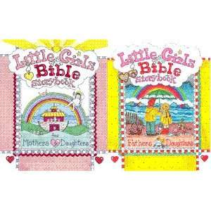 Girls Bible Storybook for Fathers & Daughters   2 Book Set (Little