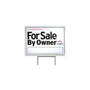 Heavy Duty For Sale By Owner (FSBO) Yard Sign Everything