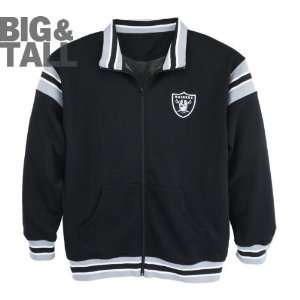 Oakland Raiders Big & Tall The League Track Jacket Sports