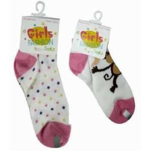 Girls Fashion Socks in Display Case Pack 48 Everything