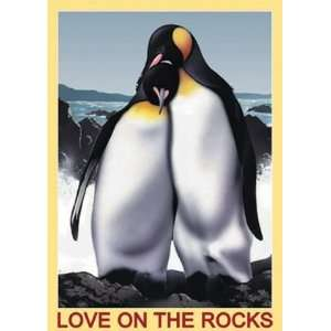 Love on the Rocks Penguin Jigsaw Puzzle 500pc Toys