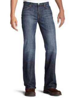 For All Mankind Mens Classic Bootcut Jean in New York Dark