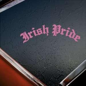 Irish Pride Pink Decal Car Truck Bumper Window Pink