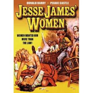 Jesse James Women   11 x 17 Poster
