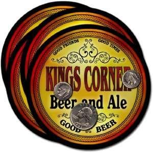 Kings Corner , CO Beer & Ale Coasters   4pk