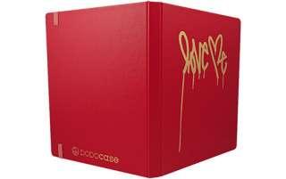 DODOCase The Love Me Red Exterior   Étui avec rabat pour iPad 2