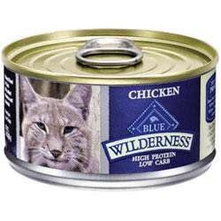 Blue Buffalo Wilderness High Protein Chicken Canned Cat Food