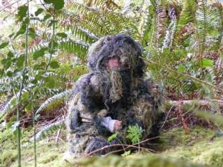 Kids Youth Paintball Ghillie Suit Clothes Clothing  LAR
