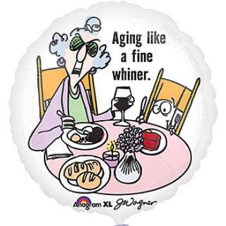 Maxine Aging Humor Mylar Balloon, Maxine Humor Mylar Balloon