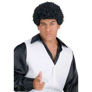 Jheri Curl Black Wig   Jeri curl wig is black and available in one