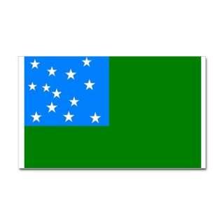 Car Accessories  Green Mountain Boys Flag Decal