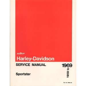 Harley Davidson Service Manual SPORTSTER 1959 to 1969 Part