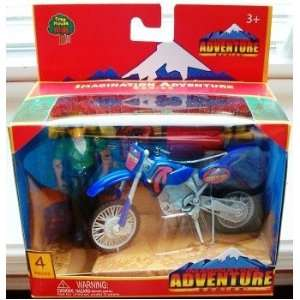 Imagination Adventure Series   Dirt Bike with Figure Toys