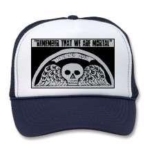 Sombrero de béisbol con alas de la piedra sepulcra gorro de camionero