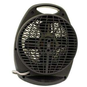 New Holmes HFH108B Compact Space Fan/Heater   Black (048894038648