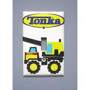 Tonka Truck Crane Single Switch Plate switchplate
