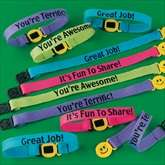 RTD Auctions   36 Nylon Friendship Encouragement Bracelets
