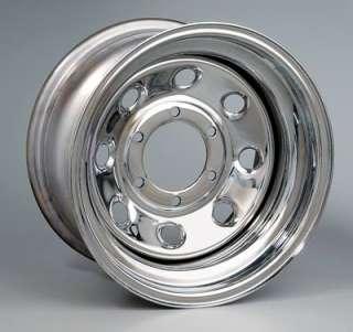 Bart Wheels Super Trucker Black Steel Wheels 16.5x14 8x6.5 BC Set