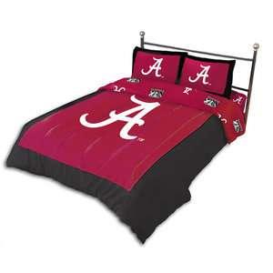 Alabama Crimson Tide Queen Comforter Set, NCAA Comforter Set
