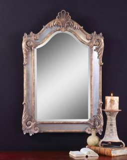 LARGE French Ornate BEVELED WALL Rectantle Mirror NEW